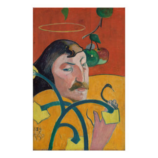 Paul Gauguin: Retrato de auto, 1889 posters de