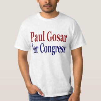 Paul Gosar para a camisa do congresso Camiseta