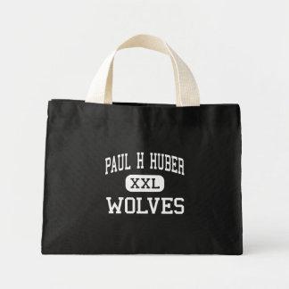 Paul H Huber - lobos - meio - arizona de Douglas Sacola Tote Mini