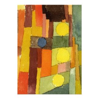 Paul Klee ao estilo de Kairouan Convite
