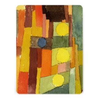 Paul Klee ao estilo de Kairouan Convites