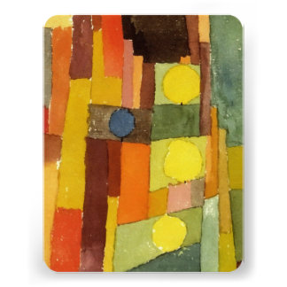 Paul Klee ao estilo de Kairouan Convite Personalizados