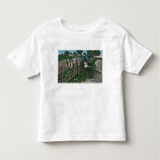 Paul Revere que informa o gerador Israel Putnam Camiseta