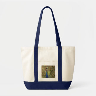 pavão bolsa tote