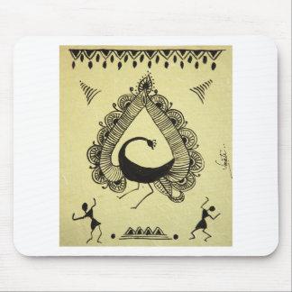 pavão da dança mousepad