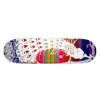 Pavão de Mexi-Cali Skates Personalizados