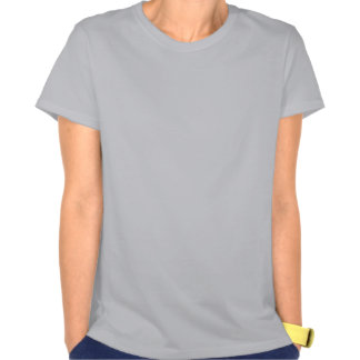 Pavão dos azuis marinhos no cinza de prata camisetas