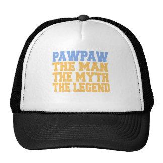 PawPaw (Azul-Amarelo) Boné