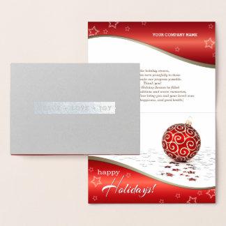 PAZ+amor+ALEGRIA. Cartões incorporados do Natal