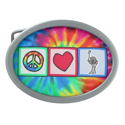 Paz, amor, avestruzes