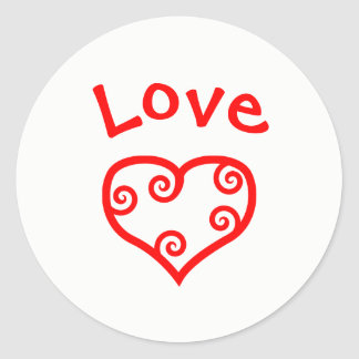 Paz, amor, coração da alegria - etiqueta do