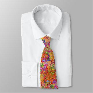 Paz, amor e felicidade gravata