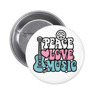 Paz-Amor-Música Botons