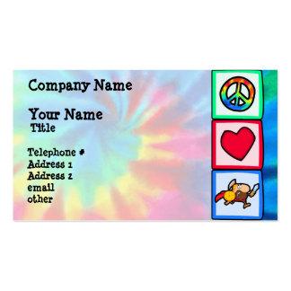 Paz, amor, Trojan Cartão De Visita