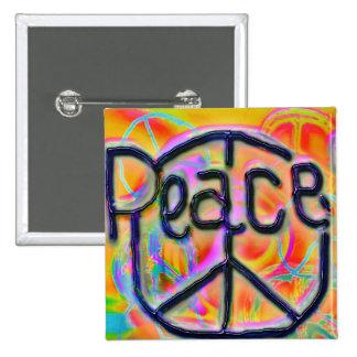 paz bóton quadrado 5.08cm