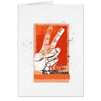 Paz… - Cartão