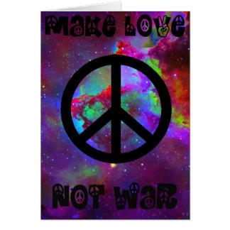Paz Cartão Comemorativo