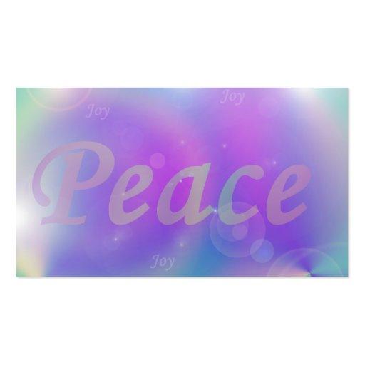 Paz Cartao De Visita