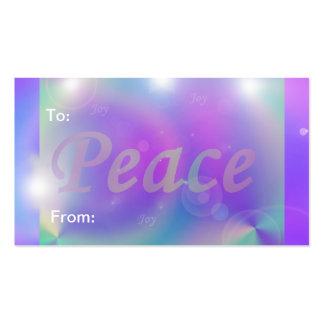 Paz Modelo Cartao De Visita