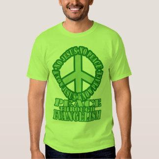Paz com o evangelismo tshirt