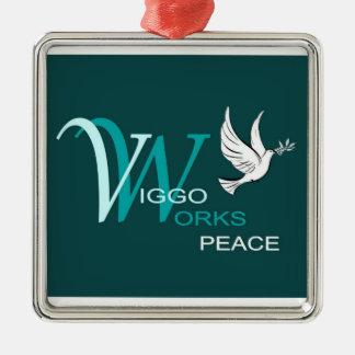 Paz da VW Enfeites De Natal