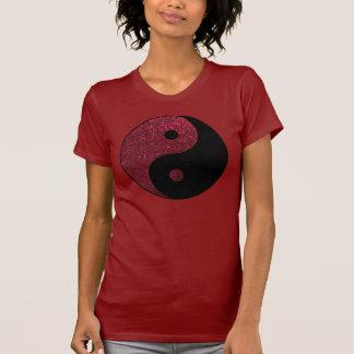 Paz de brilho camiseta