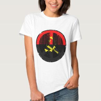 Paz em Angola Tshirts