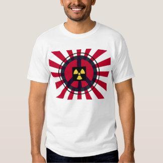 Paz & esperança para Japão Tshirt