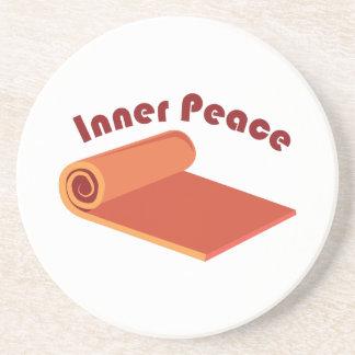 Paz interna porta copos de arenito