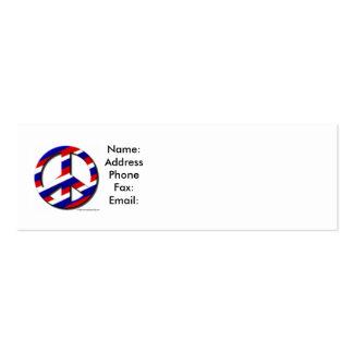 paz-manutenção programada, nome: AddressPhoneFax: Cartão De Visita Skinny