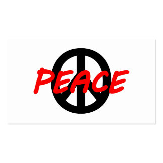 Paz Modelo Cartões De Visita