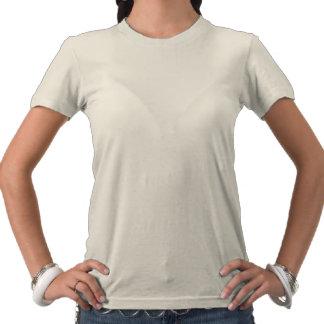 Paz na camisa das mulheres de Paquistão Camiseta