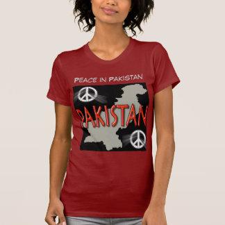 Paz na camisa das mulheres de Paquistão Tshirts