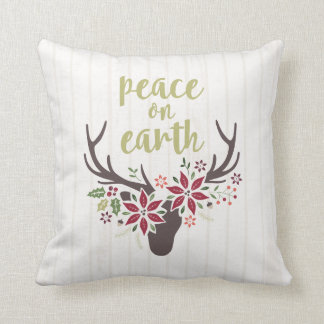 Paz na terra almofada