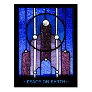 Paz na terra - cartão do feriado