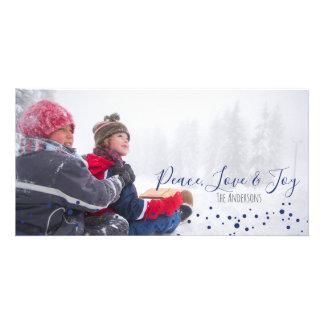 Paz, Natal do amor & da alegria ou cartões de
