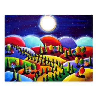 Paz no cartão da paisagem da terra