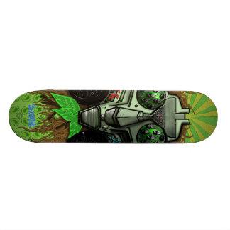 Paz Sasquatch na cidade Shape De Skate 20,6cm