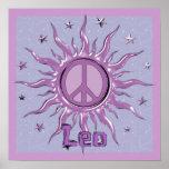 Paz Sun Leo Posters