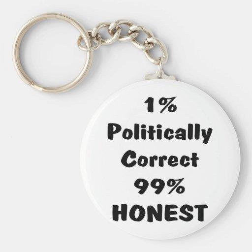 PC ou honesto Chaveiros