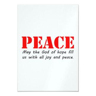 Peace3.jpg Convite 8.89 X 12.7cm
