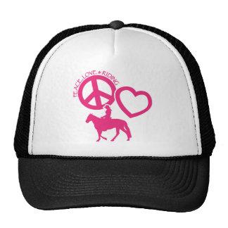 PEACE-LOVE-RIDING BONÉ