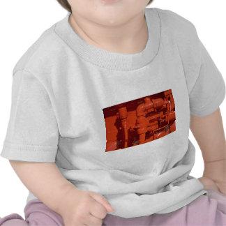Peça de um gerador alternativo da emergência camisetas