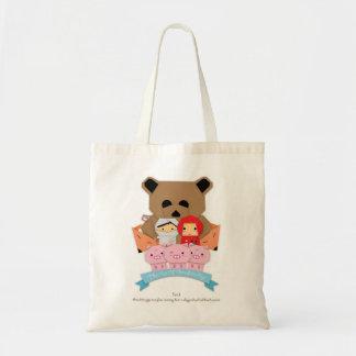 Peça pequena I_Bag de 3 porcos Bolsa