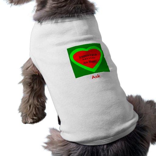 Peça -! UCreate pede o jGibney Zazzle Roupas Para Pet