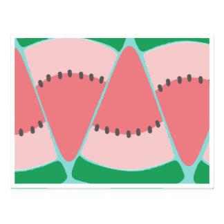Pechincha da melancia cartão postal