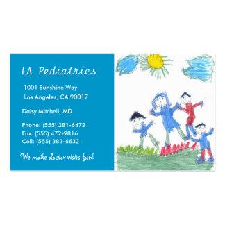 Pediatria W/B Modelo Cartoes De Visitas