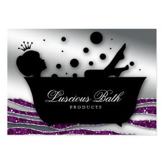 Pedicure das bolhas do salão de beleza do prego do cartões de visitas