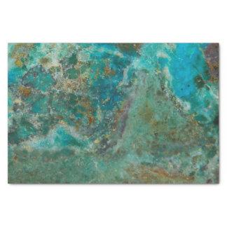 Pedra azul papel de seda