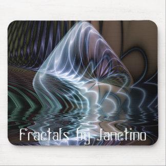 Pedra da água, Fractals por Janetino Mouse Pad